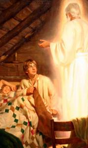 Moroni appears to Joseph
