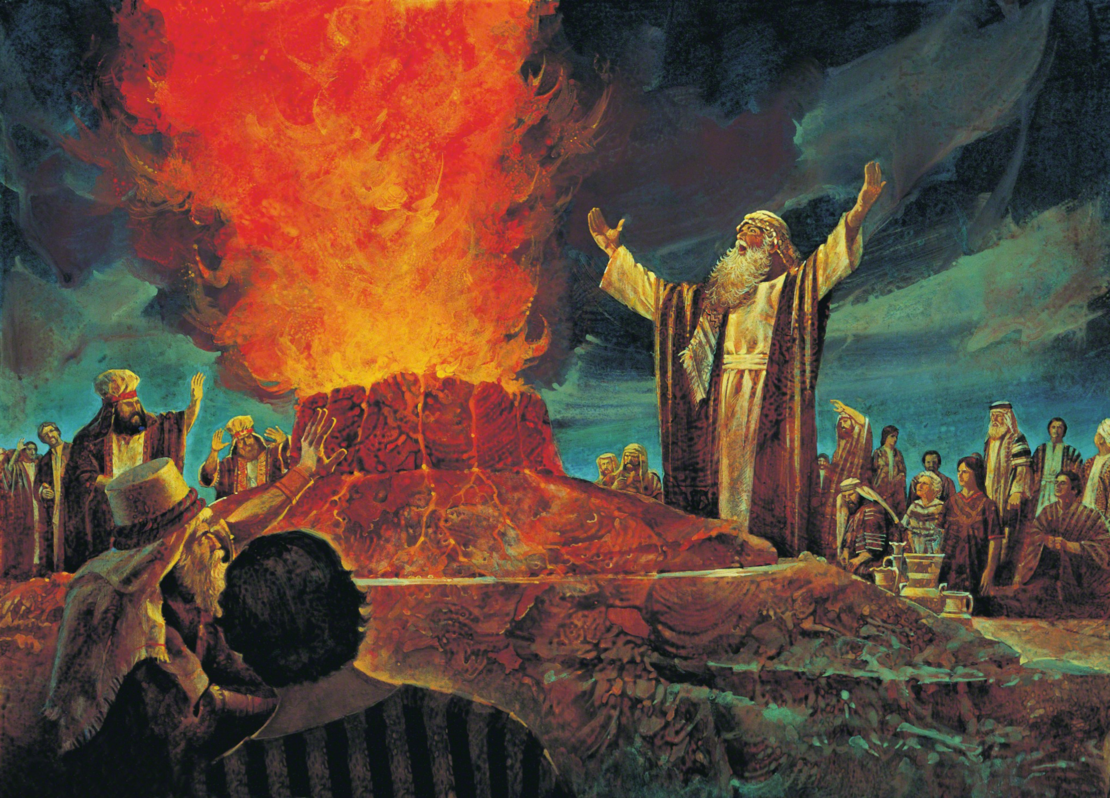 the journeys of moses and elijah to become great prophets of god There is a relationship of intimacy between elijah and god  elijah and moses  what happens to elijah in 1 kings 19 is variously described.