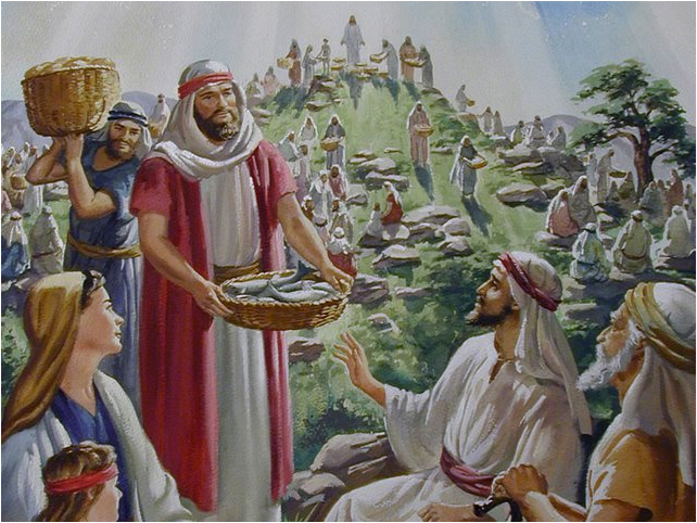 Matthew 15 enough and to spare lds scripture teachings for Miracle of the loaves and fishes