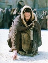jesus-writing