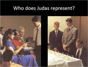 Judas as a symbol