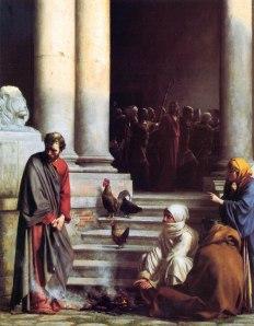 Peter's denial - Matthew 26:69-75