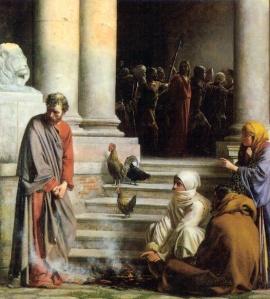 Renunciation of Peter
