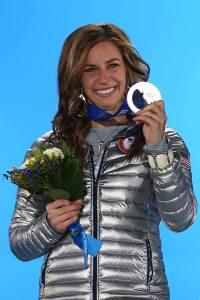 Noelle Pikus Pace wins silver