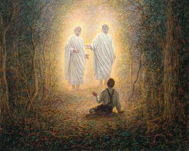 Joseph's vision of the Father and the Son - 1820