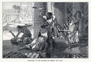 Massacre of the Hivites by Simeon and Levi