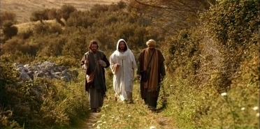 The resurrected Lord on the road to Emmaus - Luke 24
