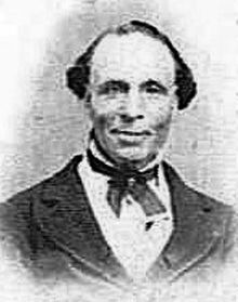 Elijah Abel, a black Latter-day Saint who was ordained an elder and then a seventy in 1836