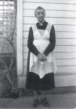 "Mary Ellen ""Ella"" Jensen Wight 1871-1957. Ella married Henry Wight (1861-1943) and had 4 children. Source: Findagrave.com"