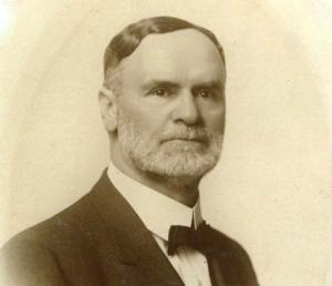 Orson F. Whitney 1855-1931. Orson was a grandson of Heber C. Kimball and a member of the Quorum of the Twelve Apostles from 1906-1931.