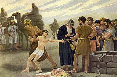 Image result for joseph sold into slavery